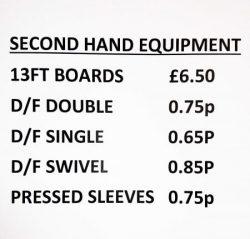 2nd Hand Equipment