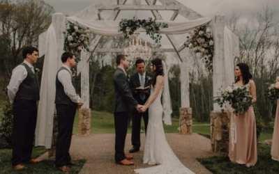 Enchanting Blush Wedding