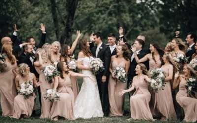Blush Marblegate Farm Wedding