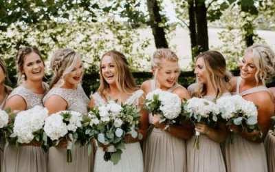 Neutral Wedding at Strawberry Creek