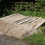 Sleeper bridge at Drybrook
