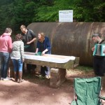 Panning for gold with music