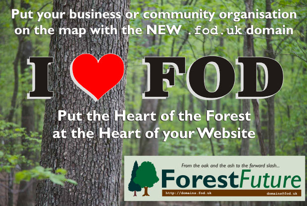 The new .fod domain from Forest Future