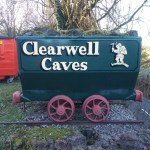 Clearwell Caves wagon side view