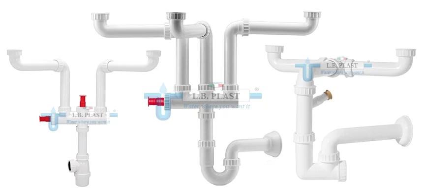 space savers plumbing kits l b plast srl