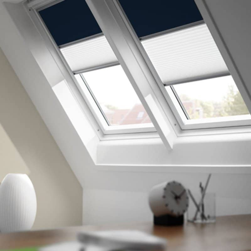 velux duo blackout pleated blinds dfdck