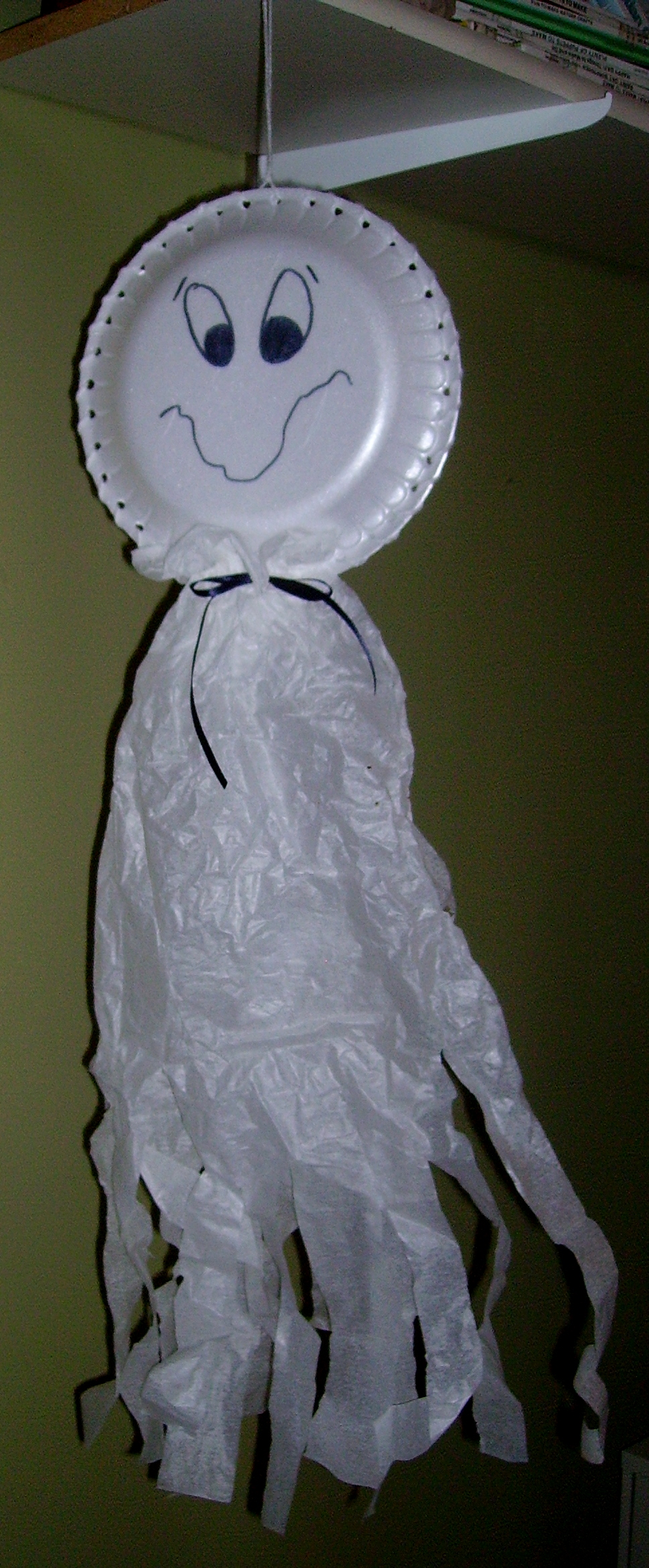paper plate ghost : paper plate ghost - pezcame.com