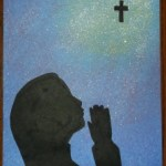 children praying-8-girl-glue on silhouette3