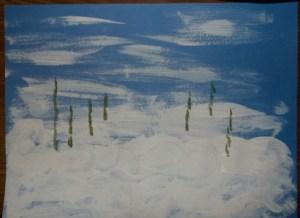snowman-locate trees