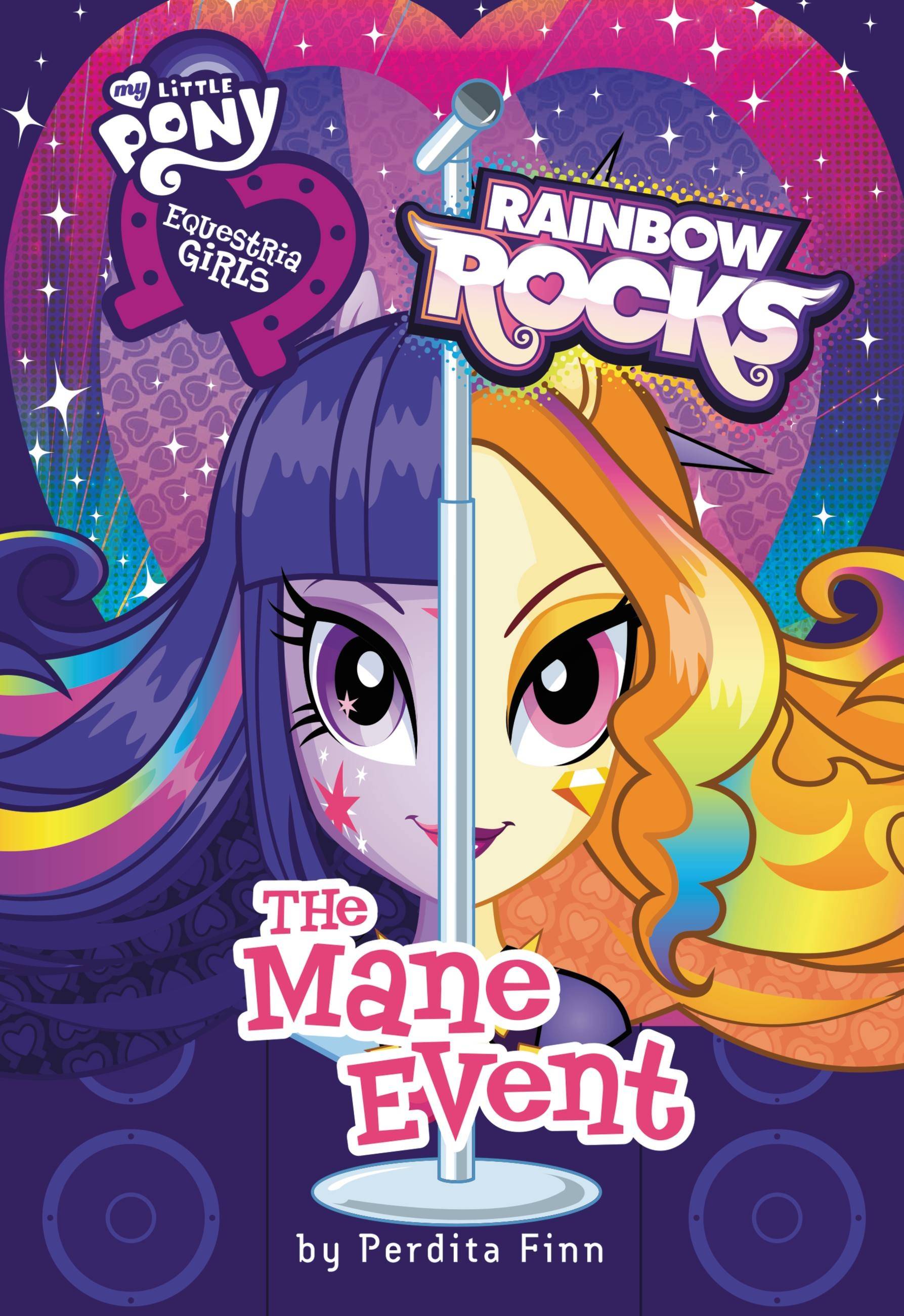 My Little Pony Equestria Girls Rainbow Rocks The Mane Event By Perdita Finn Little Brown Books For Young Readers