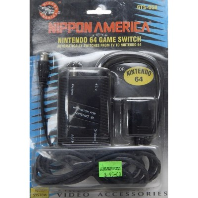 Nintendo64 Game Switch for Television connector