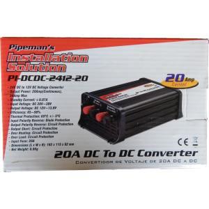 24v to 12v dc to dc converter pipeman installation solution