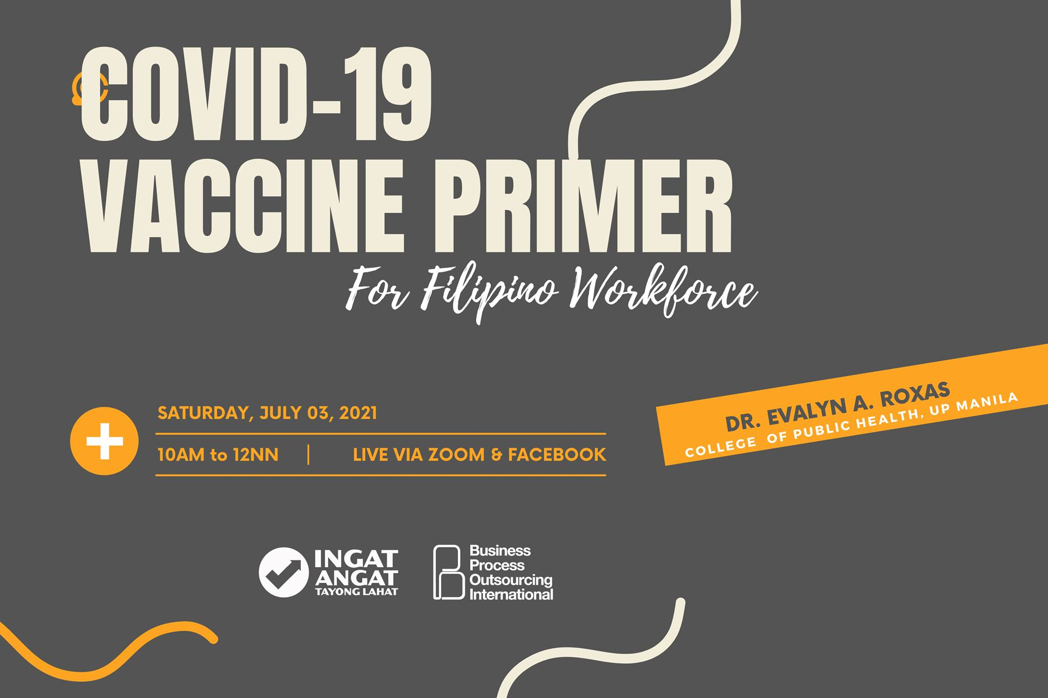 COVID-19 VACCINE PRIMER For Filipino Workforce via @joinlcac