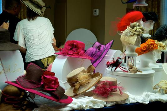 Hats Fascinators and Book Signing (2)