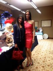 Simran Rihal and Gabriela Dror