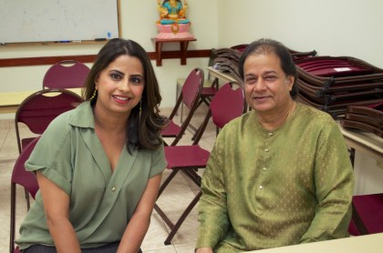 Ruchi Mukherjee with Anup Jalota