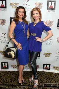 Parissa Mohajer and Yasmine Haddad