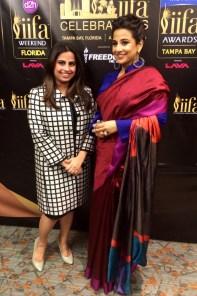 Ruchi Mukherjee and Vidya Balan