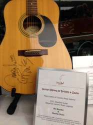Auction Item Autographed Guitar by Brooks and Dunn