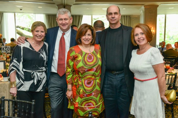 Beth Ollenburger, Mike Heinz, Michelle Heinz, Andy Kahan, and Leslie Interiano