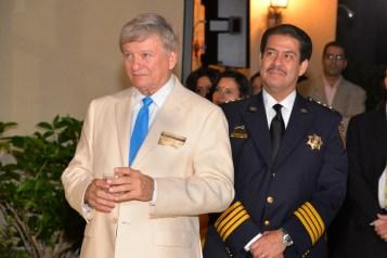 Rusty Hardin and Sheriff Adrian Garcia