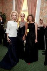 Lynn Wyatt, Angela Dotson, Susan de Menil