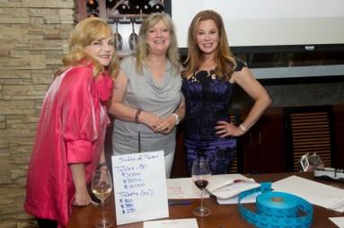 Kim Padgett, Janice Burns, Cindi Rose
