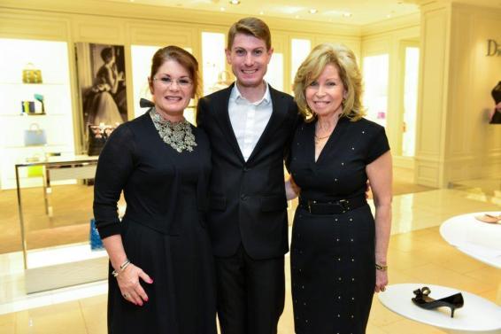 Christine Napier, James Napier and Dorothy Bolettieri