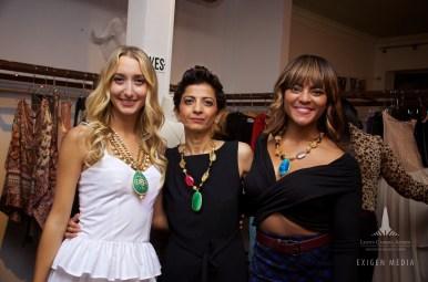 Chiara Casiraghi, Bela Thacker, Ashia Johnson
