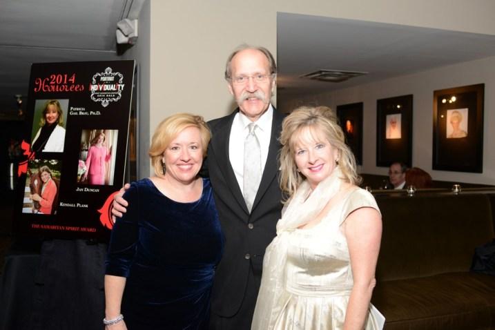 Jennifer Bray, Stephen Linder, Patricia Gail Bray (Patricia Gail Bray - Honoree)