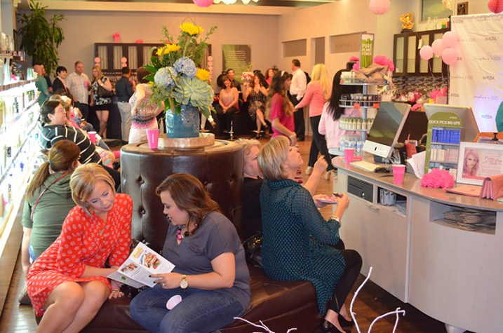 Pretty In Pink At Josephine's Day Spa and Salon (13)
