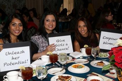 (L to R) Prina Shah, Farah Gandhi, Sejal Choksi