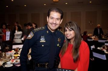 Sherif Adrian Garcia and Ruchi