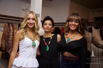 Chiara, Bela and Aisha