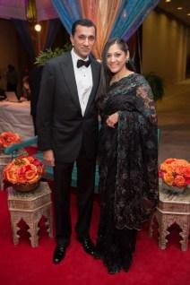 Ajay and Sippi Khurana; Photo by Wilson Parish