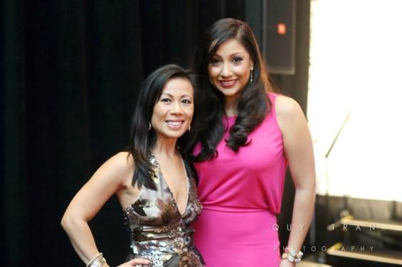 Chau Nguyen and Nancy Almodovar