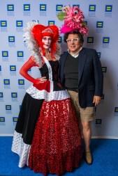 The Queen of Hearts and JMichael Soliz