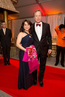 Maria and Neil Bush