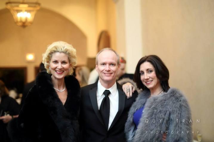 Paula Mott, Dan and Leslie Wall Hassan