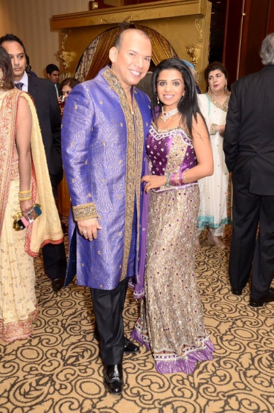 Alex at the DIL Gala in a Sherwani