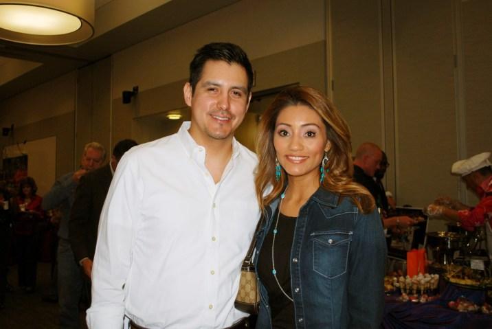 Sergio Selvera and Rita Garcia