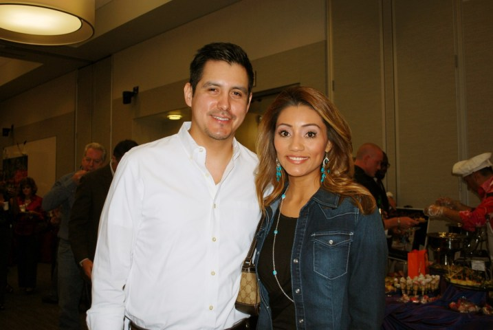 Sergio Selvera and Rita Garcia
