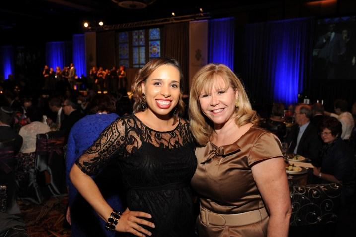 Lacey Dalcour Salas and Cyndy Garza Roberts