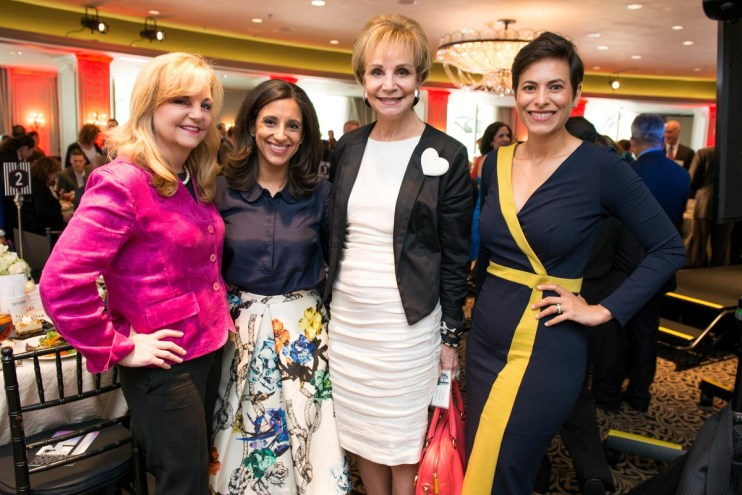 Kim Padgett, Crime Stoppers Exec. Director Rania Mankarious, Leisa Holland-Nelson and Mary Maikhail