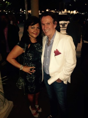 Antigone with Peter Remington at Modern Luxury Men of Style Event