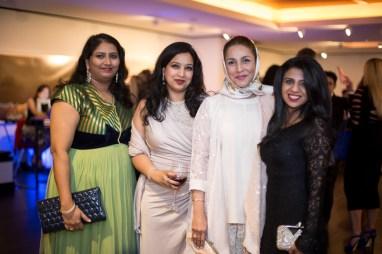 Swati Madhusani, Hema Prasad, Dr. Monira Kundi, Farida Abjani