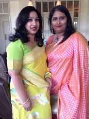 Hema Prasad and Swati Madhusani