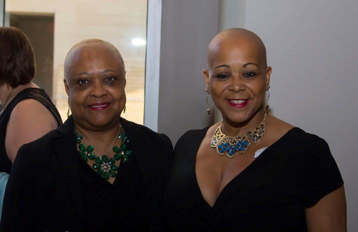 left to right Vanessa's Mom, Vanessa Williams