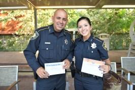 Deputy Sam Olivares, Deputy Sandra Chavez