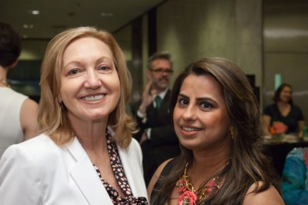 Denise O'Brian and Ruchi Mukherjee